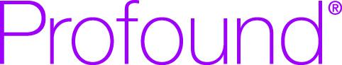 Profound word in purple