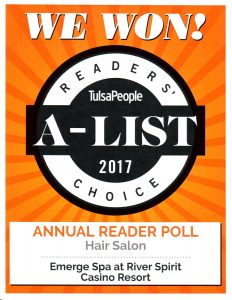 TulsaPeople 2017 Readers' Choice Award