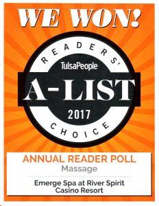 TulsaPeople 2017 Reader's Choice Award River Spirit