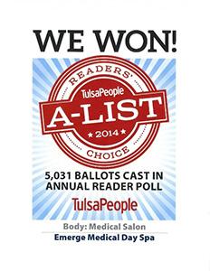 A List 2014 Tulsa People Award