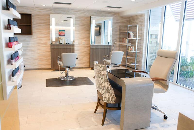 Emerge River Spirit manicure treatment desk