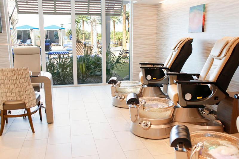 Emerge River Spirit spa nails treatment chairs
