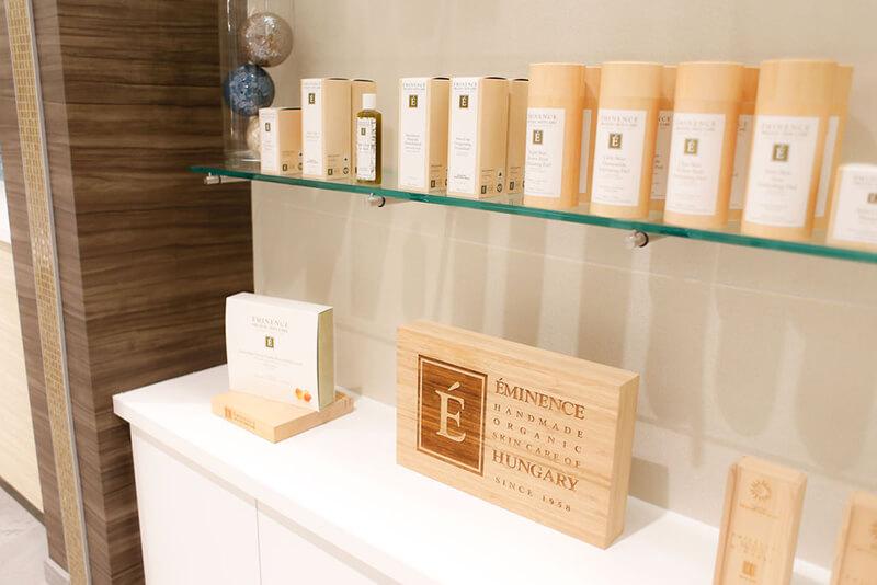 Emerge River Spirit product shelves